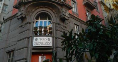 """Al Nuovo Tearto San Carluccio in scena : """" L'Immoralista """" di Antonio Mocciola e Luisa Guarro."""