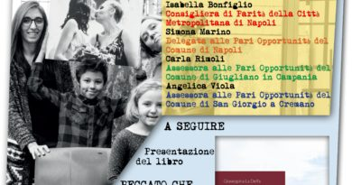 """Inaugurazione Mostra """" FAMIGLIE """" nella Sala del Consiglio di santa Maria la Nova."""