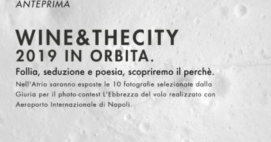 """AL PALAZZO DELLE ARTI DI NAPOLI : """" WINE & THE CITY IS BACK."""