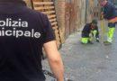 Sversamento illecito in via Martucci, la Polizia Locale interviene e multa
