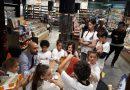 FARE LA SPESA AL CENTRO DEL LABORATORIO DI EDUCAZIONE ALIMENTARE A NAPO