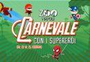 Dal 22 al 25 febbraio 2020 Carnevale allo Zoo di Napoli con i Super Eroi