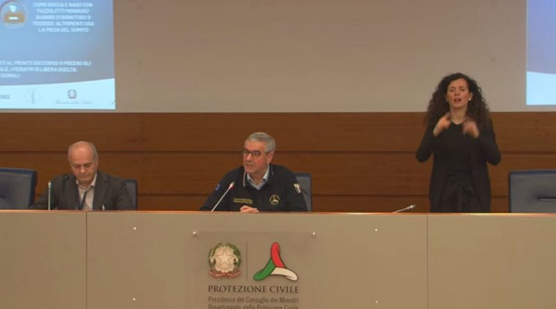PROTEZIONE  CIVILE : CORONAVIRUS Italia: Ultimo Bollettino, ancora Nuovi FOCOLAI! +193 CONTAGIATI, +15 MORTI, +1 in T.INTENSIVA