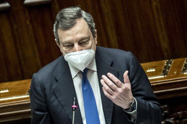 Impegno di Draghi per le famiglie  mentre la giustizia tiene sempre banco